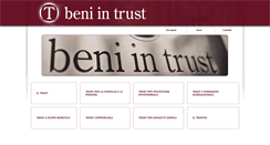 Preview of beni-in-trust.it