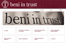 Tablet Preview of beni-in-trust.it